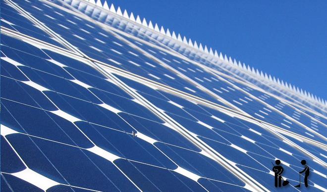 entretien panneaux photovoltaiques